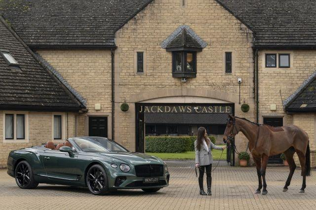 Exterior of the Continental GT Convertible Equestrian Edition
