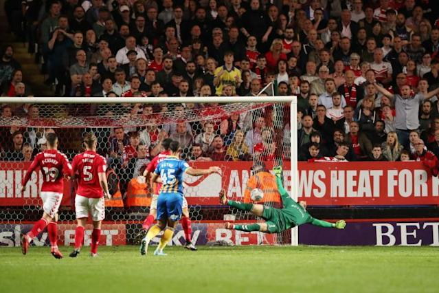Charlton 0 Shrewsbury 1: Jon Nolan strike gives Shrews play-off semi-final lead