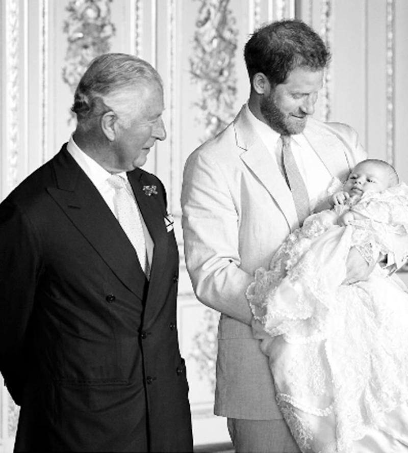 Prince Charles, Prince Harry and Archie | Chris Allerton © SussexRoyal