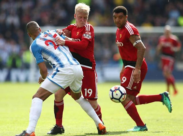 Tom Ince strikes injury-time winner as Huddersfield beat Watford at the death to ease relegation fears