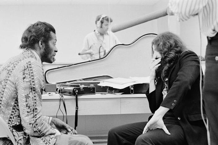 <p>Chuck Berry discusses his performance at Madison Square Garden in 1972, while filming the documentary <em>Let the Good Times Roll.</em></p>
