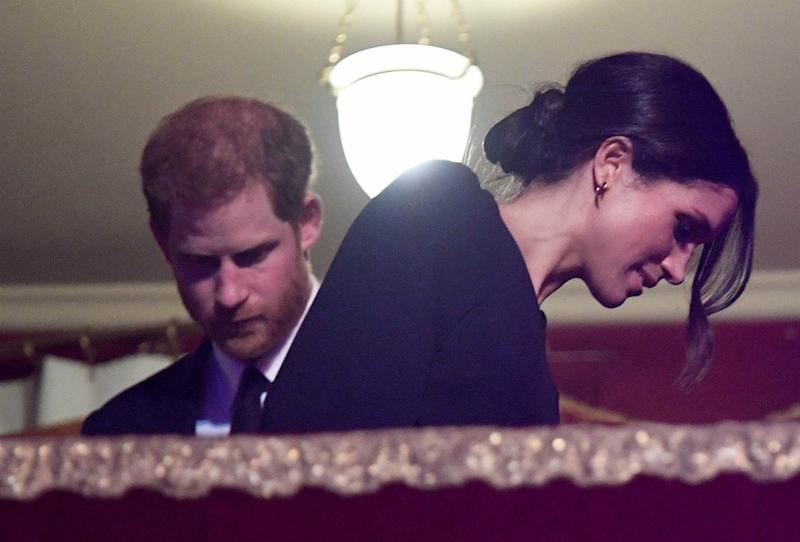 Meghan Markle Wore a Stunning Cape Dress for the Queen's Star-Studded Birthday