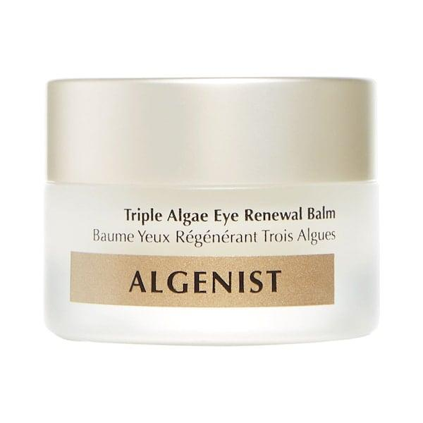 <p>Three different types of algae plus alguronic acid all target different reasons and types of under-eye circles in this <span>Algenist Triple Algae Eye Renewal Balm with Multi-Peptide Complex</span> ($68).</p>