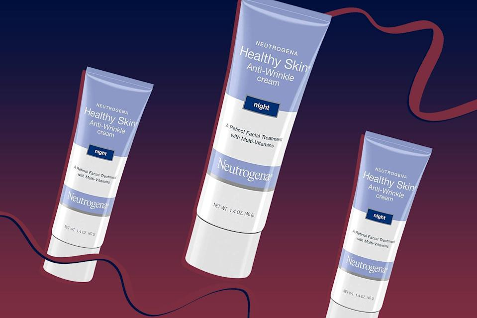 Shoppers Say This $10 Retinol Night Cream Makes a 'Dramatic Difference' on Fine Lines