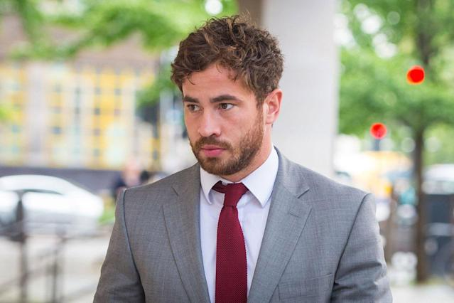 Danny Cipriani appeared in court on Thursday