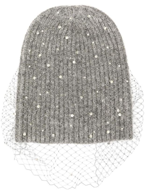 "<p>Jennifer Behr Violette Beanie, $474 (was $790), <a href=""https://rstyle.me/+_VH-b5L15NFfCAQdAg6xhg"" rel=""nofollow noopener"" target=""_blank"" data-ylk=""slk:available here"" class=""link rapid-noclick-resp"">available here</a>.</p>"