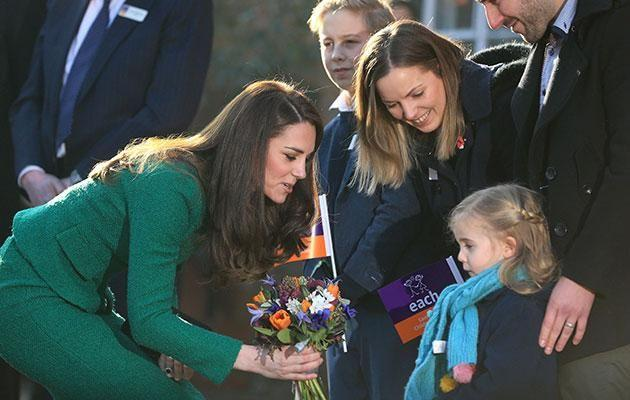 Kate met the Cork family while visiting a local hospice. Photo: Getty Images