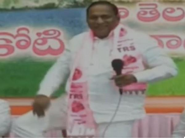 Telangana Minister and TRS leader Malla Reddy (Photo/ANI)