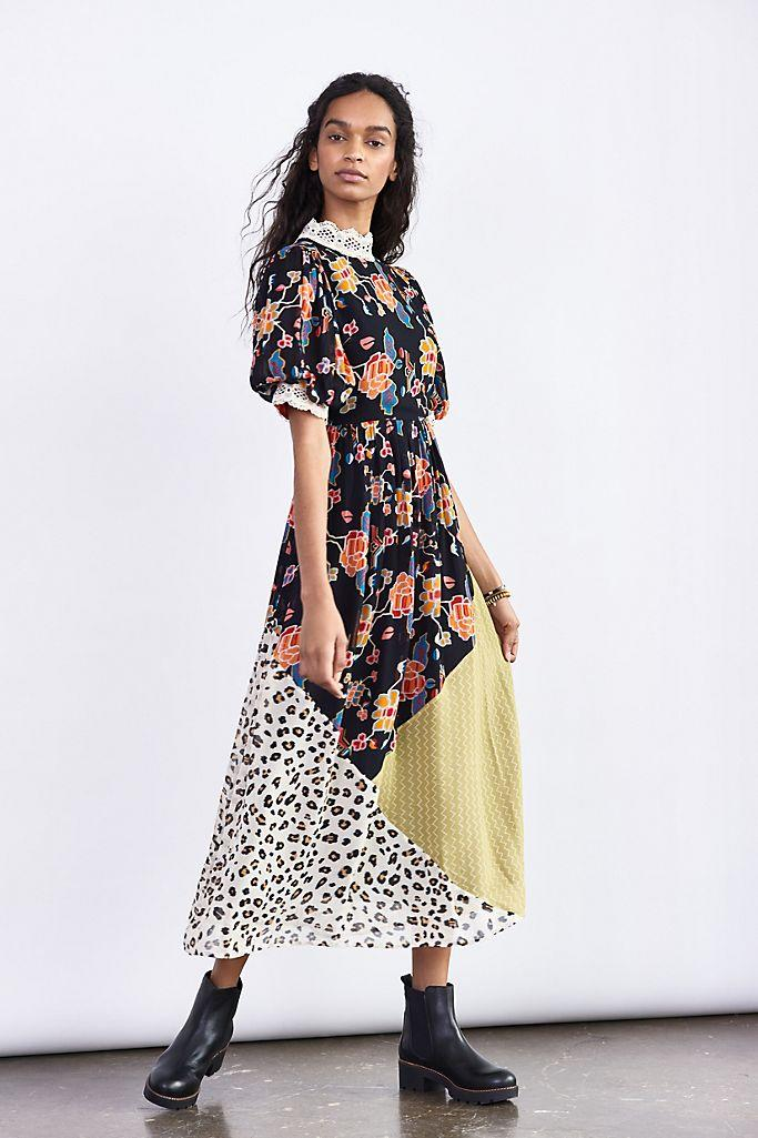 Soniya Embroidered Maxi Dress. (Anthropologie)
