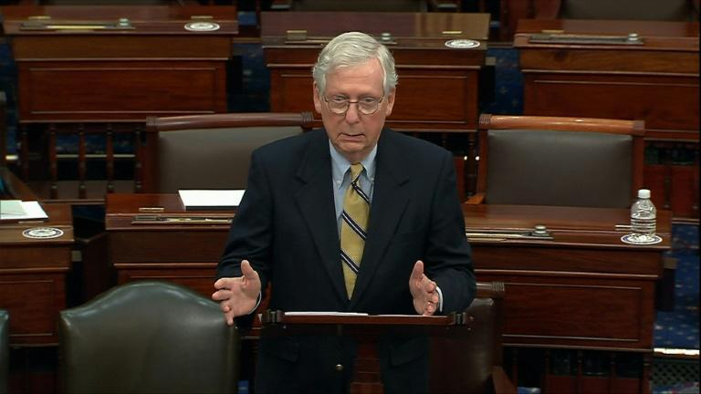 McConnell says Trump 'responsible' for Capitol assault, despite acquittal