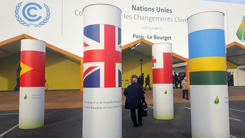 The UK is submitting its climate plans under the Paris Agreement, negotiated in France in 2015 (Emily Beament/PA)