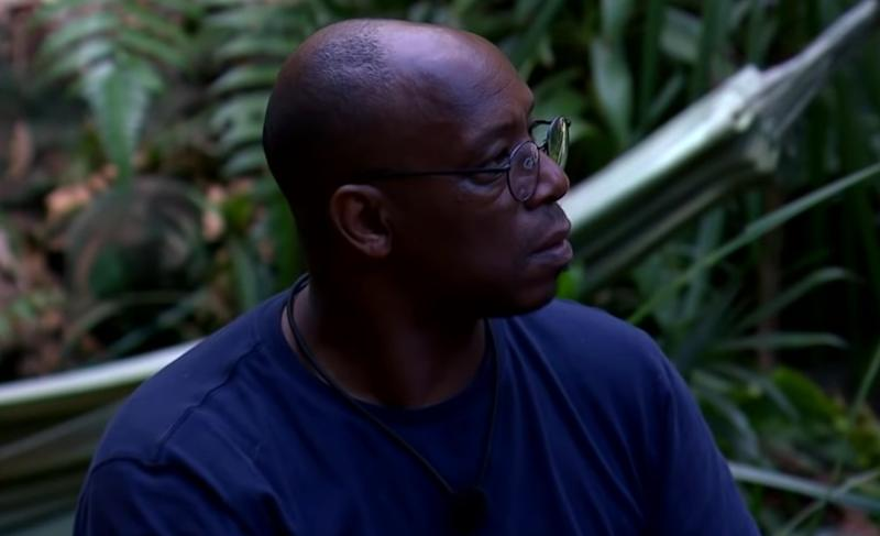 Haskell made the comments when teasing ex-Arsenal footballer Ian Wright (pictured) about his running skills (ITV)