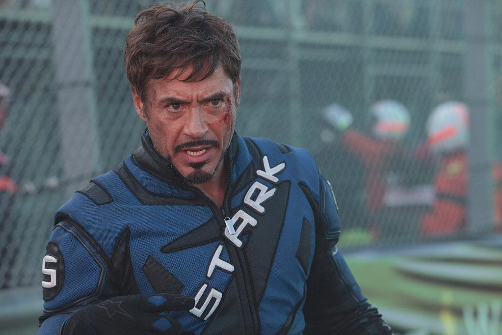 Stars Injured on Set, Robert Downey Jr.