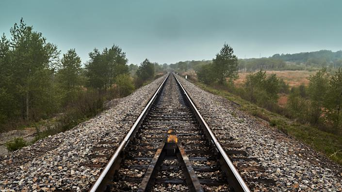 In a new era of social distancing and an ongoing battle over climate change, railroads suddenly look like the smarter choice. (Photo: Sergei KIBALCHICH/Getty Images)