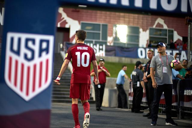 """After missing the World Cup, the United States must build the future around <a class=""""link rapid-noclick-resp"""" href=""""/soccer/teams/borussia-dortmund/"""" data-ylk=""""slk:Borussia Dortmund"""">Borussia Dortmund</a> wunderkind <a class=""""link rapid-noclick-resp"""" href=""""/soccer/players/christian-pulisic/"""" data-ylk=""""slk:Christian Pulisic"""">Christian Pulisic</a> and a younger, promising generation. (Getty)"""