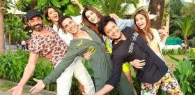 Watch 'Housefull 4' cast jam on 'Rock The Party' song amid promotions