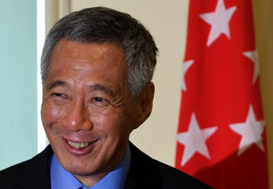 """Singapore Prime Minister Lee Hsien Loong will be on """"medical leave for one week"""" during which Deputy Prime Minister Teo Chee Hean will be acting prime minister (AFP Photo/MOHD RASFAN)"""