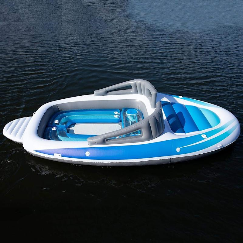 Amazon's 6-person inflatable party boat can be yours for a cool £222