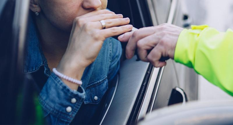 Drunk driving defence: The woman claims that her coat nibbling could have skewed her breath test results.
