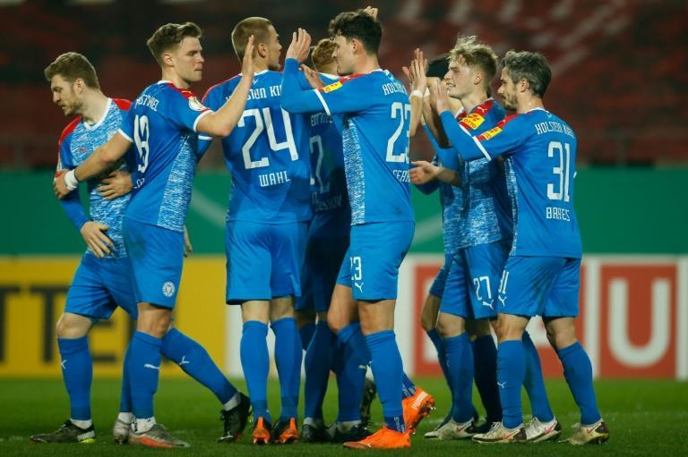 Holstein Kiel knocked out holders Bayern Munich during their run to the German Cup semi-finals