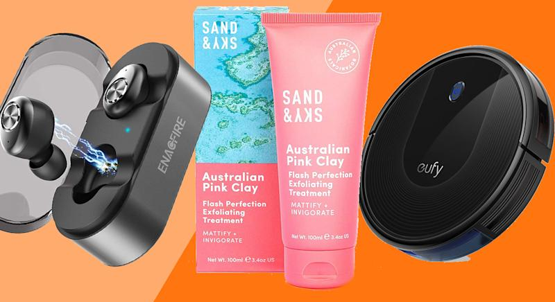 From tech to beauty, shop all the best deals in Amazon's Hidden Gems sale. [Photo: Yahoo Style UK]