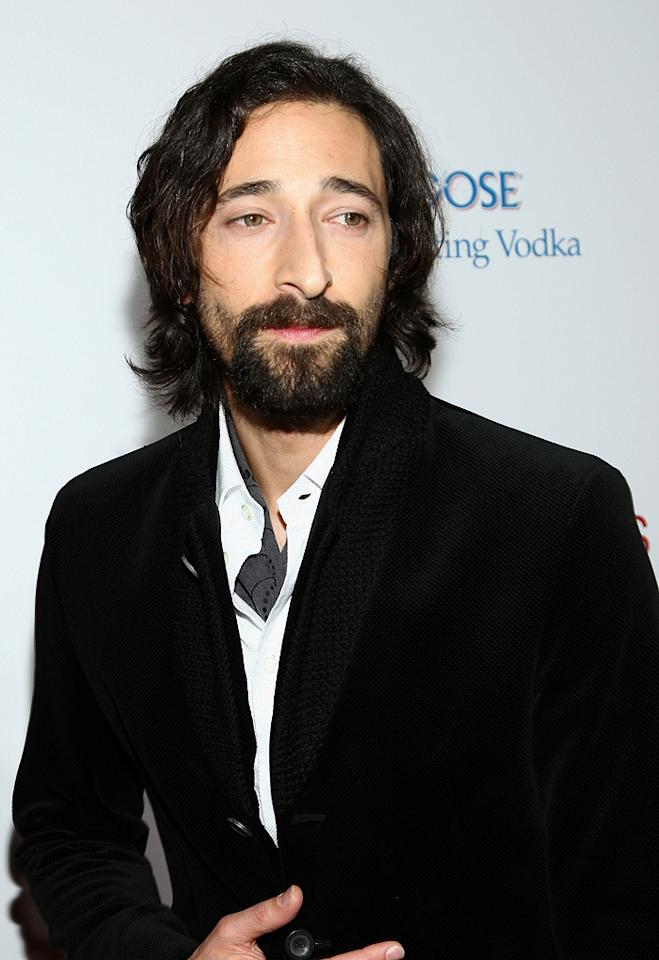 "<a href=""http://movies.yahoo.com/movie/contributor/1800018941"">Adrien Brody</a> at the Los Angeles premiere of <a href=""http://movies.yahoo.com/movie/1810003875/info"">Cadillac Records</a> - 11/24/2008"
