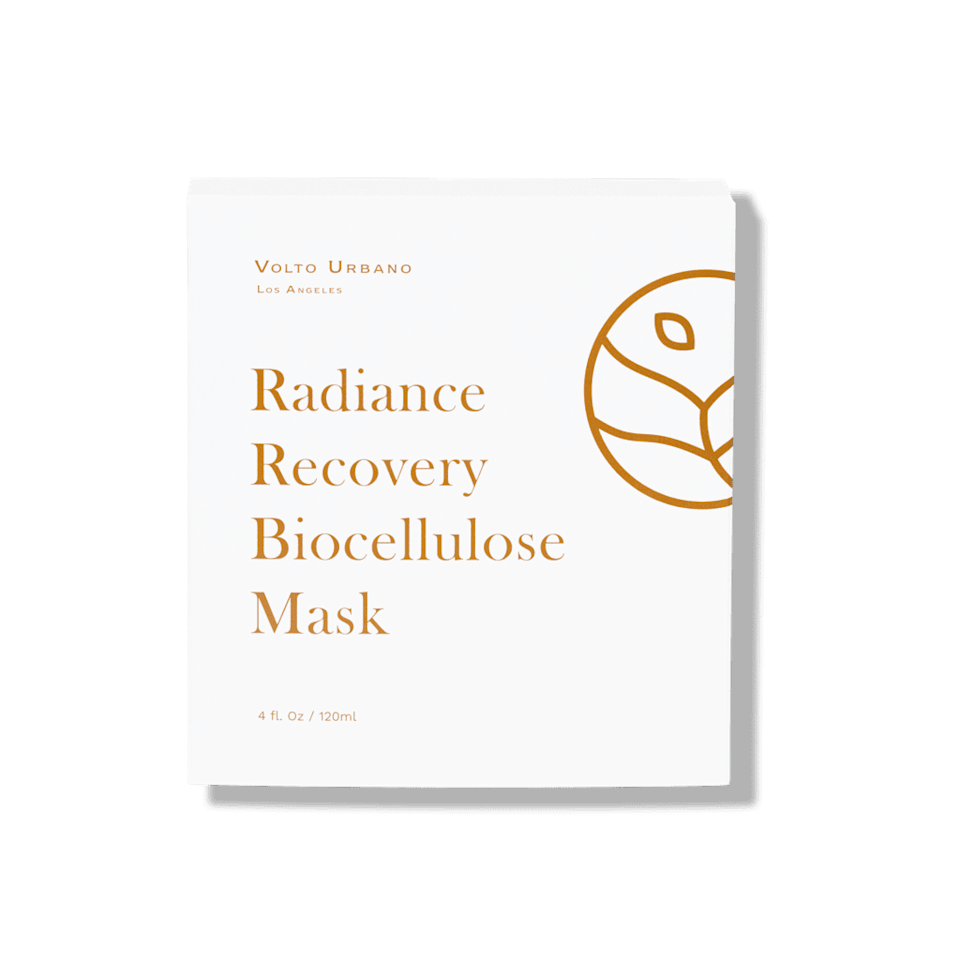 <p>The <span>Volto Urbano Radiance Recovery Biocellulose Masks</span> ($65) help enhance skin's radiance. Each box contains five, biodegradable single-use sheet masks.</p>