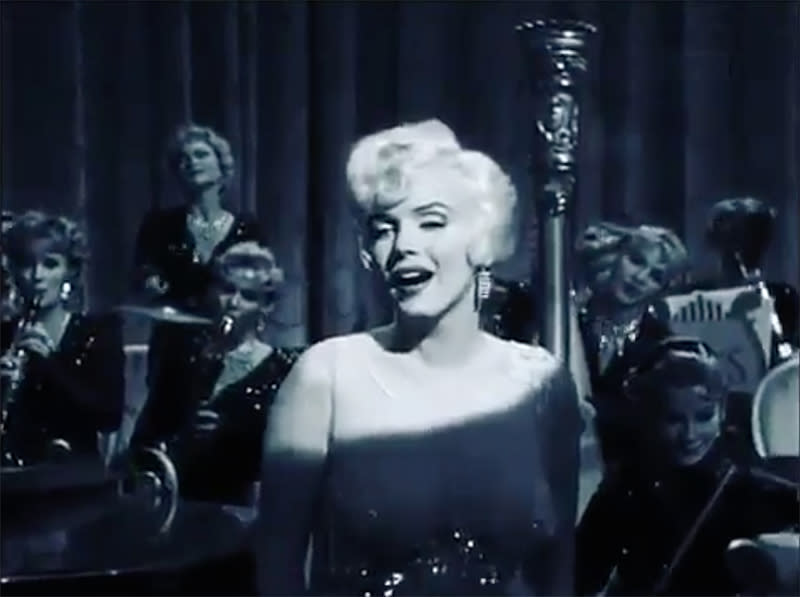 """<p>The actress apparently just wants to be loved by you! She posted this <i>Some Like It Hot</i> clip of Marilyn Monroe singing the classic song. (Photo: <a rel=""""nofollow noopener"""" href=""""https://www.instagram.com/p/BQfbuudlcGD/"""" target=""""_blank"""" data-ylk=""""slk:Instagram"""" class=""""link rapid-noclick-resp"""">Instagram</a>) </p>"""
