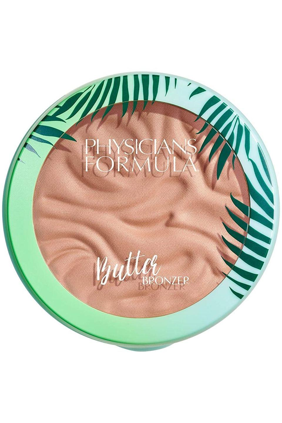 """<p><strong>Physicians Formula</strong></p><p>amazon.com</p><p><strong>$10.70</strong></p><p><a href=""""https://www.amazon.com/dp/B018B8Q5Z6?tag=syn-yahoo-20&ascsubtag=%5Bartid%7C2140.g.35717314%5Bsrc%7Cyahoo-us"""" rel=""""nofollow noopener"""" target=""""_blank"""" data-ylk=""""slk:shop"""" class=""""link rapid-noclick-resp"""">shop</a></p><p>Raise your hand if you love a good <a href=""""https://www.cosmopolitan.com/style-beauty/beauty/g15773998/best-drugstore-makeup-brands-products/"""" rel=""""nofollow noopener"""" target=""""_blank"""" data-ylk=""""slk:drugstore makeup"""" class=""""link rapid-noclick-resp"""">drugstore makeup</a> find. Good, so that makes everyone! If you <a href=""""https://www.cosmopolitan.com/style-beauty/beauty/advice/g1416/how-to-use-bronzer/"""" rel=""""nofollow noopener"""" target=""""_blank"""" data-ylk=""""slk:use bronzer"""" class=""""link rapid-noclick-resp"""">use bronzer</a> and have yet to try this deliciously scented formula, you're seriously missing out. </p>"""