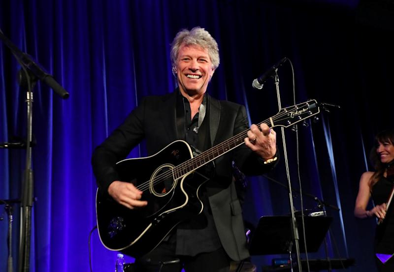 Jon Bon Jovi performing in New York City in June 2018 (Getty Images for Hospital for Special Surgery)