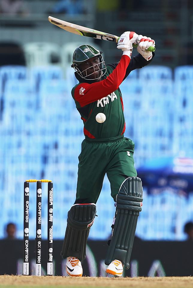 Alex Obanda (Kenya): The 24-year-old opening batsman scored 298 runs (highest score - 79) at an average of 33.11 and strike rate of 146.07 from nine matches.