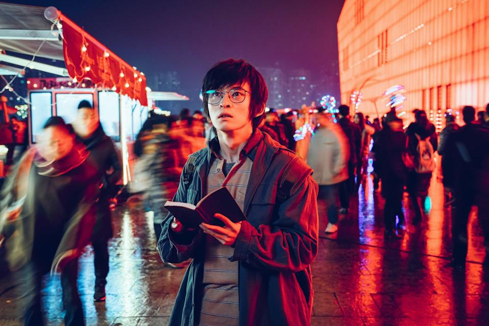 Novelist Lu Kongwen's (Dong Zijian) story becomes real life in The Writer's Odyssey. (Photo: Golden Village Pictures)