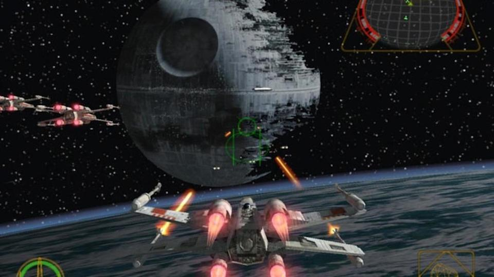<p>Launch games — games that release day and date with a new console — are usually forgettable. Not so <i>Rogue Leader</i>. The sequel to the excellent <i>Rogue Squadron</i> wasn't just the best launch game for the Nintendo Gamecube, it was one of its best games, period. Spanning the original trilogy, its fast-paced action, tight controls, and incredible graphics sold plenty of systems.</p>
