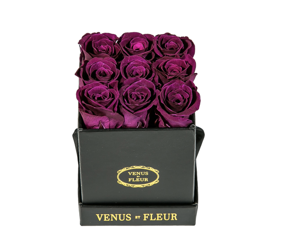 """<p><strong>Venus ET Fleur</strong></p><p>https://www.neimanmarcus.com</p><p><strong>$79.00</strong></p><p><a href=""""https://go.redirectingat.com?id=74968X1596630&url=https%3A%2F%2Fwww.neimanmarcus.com%2Fp%2Fvenus-et-fleur-classic-mini-square-rose-box-prod225970478&sref=https%3A%2F%2Fwww.seventeen.com%2Flove%2Fdating-advice%2Fadvice%2Fg1357%2Fvalentines-day-gift-guide-for-your-girls%2F"""" rel=""""nofollow noopener"""" target=""""_blank"""" data-ylk=""""slk:Shop Now"""" class=""""link rapid-noclick-resp"""">Shop Now</a></p><p>Let's be honest, every girl expects flowers on V Day. These ones last a whole year.</p>"""
