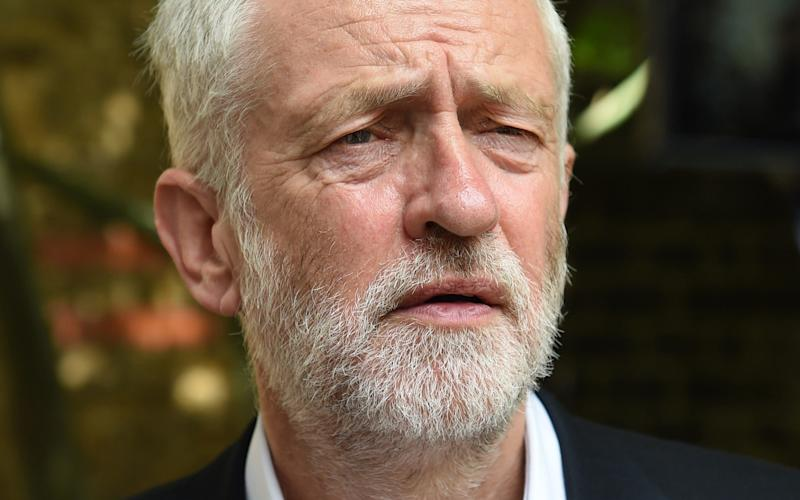 Jeremy Corbyn, the Labour leader - Credit: WPA/Getty Images Europe