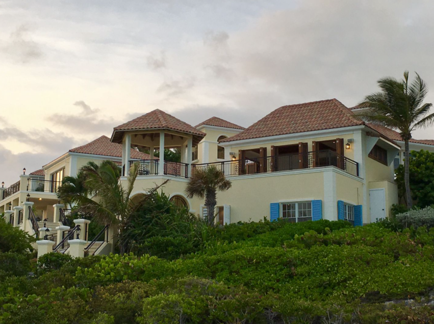 <p>The property itsefl has six bedrooms and six bathrooms with a 360 degree view of the ocean. Source: Premiere Estates </p>