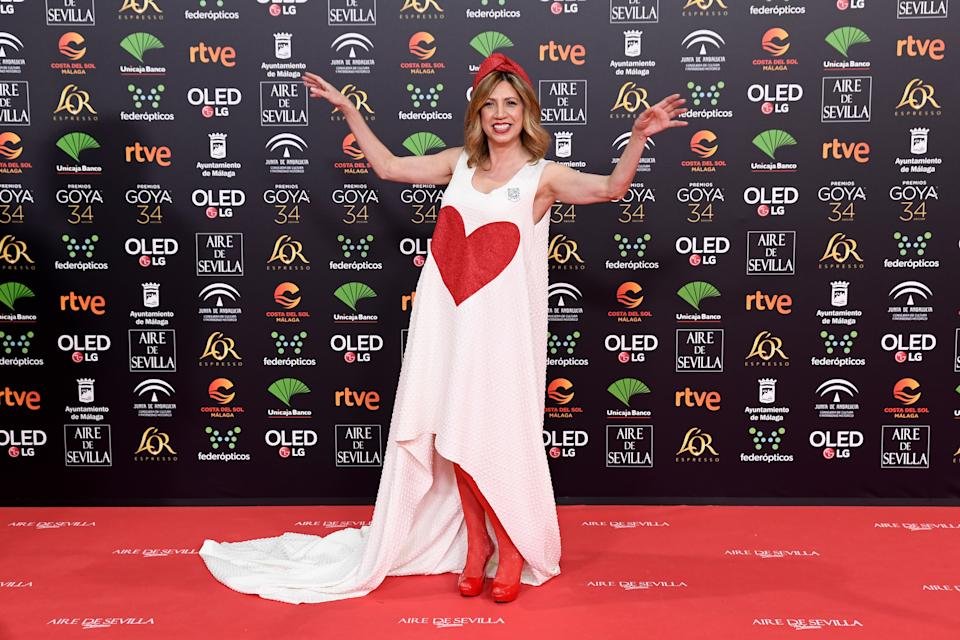 MALAGA, SPAIN - JANUARY 25: Pilar Ordoñez attends the Goya Cinema Awards 2020 during the 34th edition of the Goya Cinema Awards at Jose Maria Martin Carpena Sports Palace on January 25, 2020 in Malaga, Spain. (Photo by Carlos Alvarez/Getty Images)
