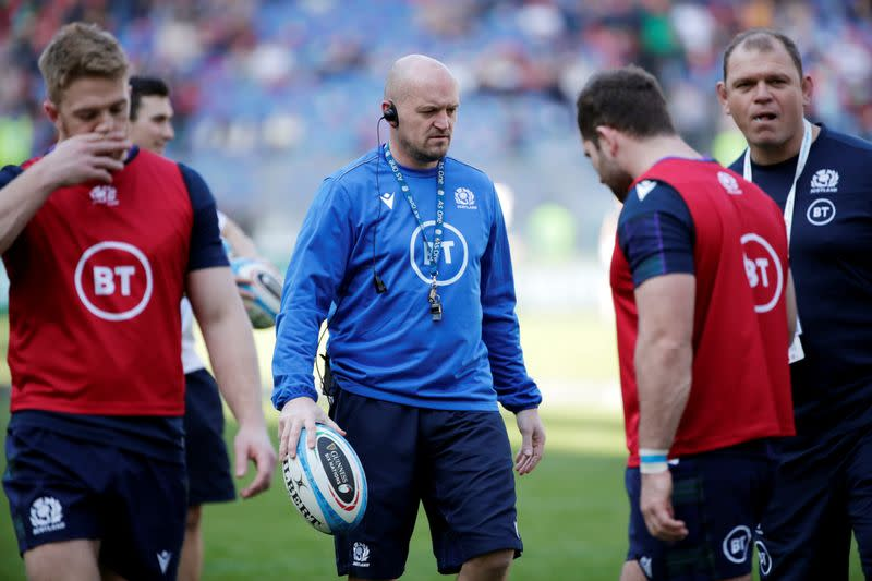 Scotland coach Townsend accepts 25% wage deferral