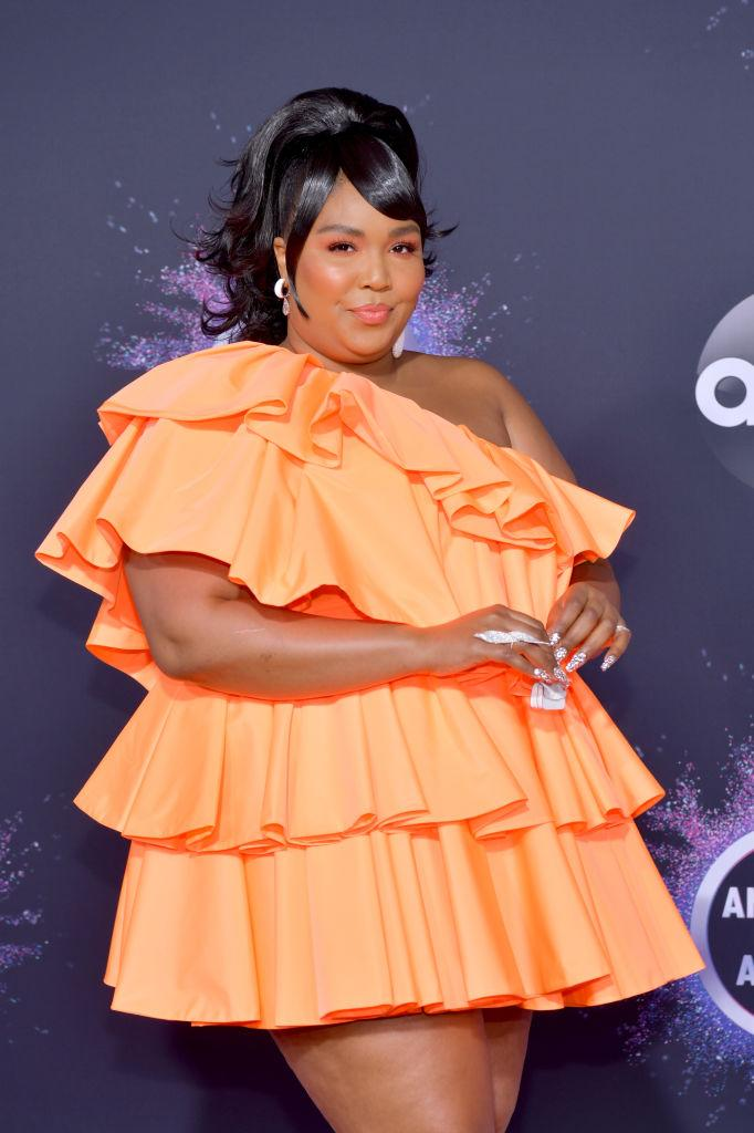 Lizzo attends the 2019 American Music Awards at Microsoft Theater on Nov. 24 in Los Angeles. (Photo: Rodin Eckenroth/FilmMagic)