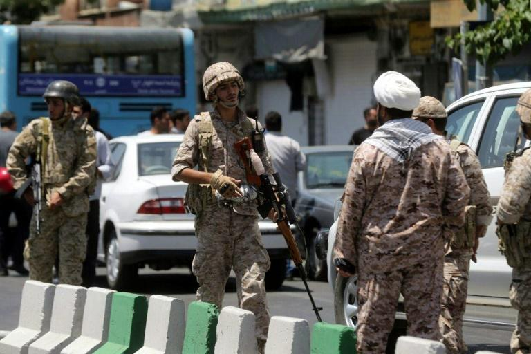 Three assailants killed in attack on Iran military checkpoint