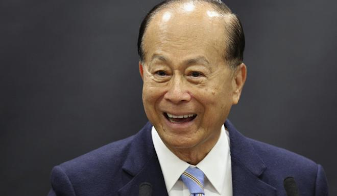 Hong Kong tycoon Li Ka-shing made a rare move in appealing to protesters in 2014. Photo: Reuters