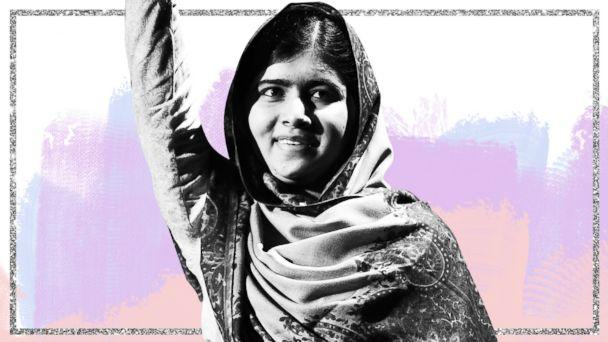 PHOTO: Malala Yousafzai (GMA Photo Illustration, Getty)