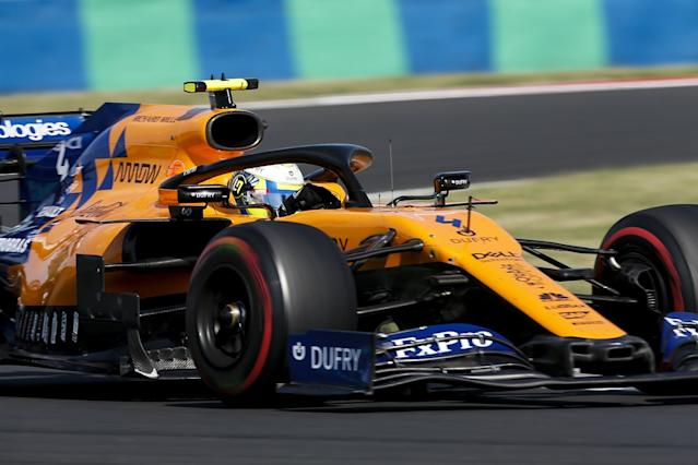 McLaren boosted by early start on 2020 car