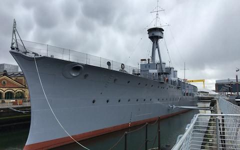 HMS Caroline, Belfast, Northern Ireland - Credit: This content is subject to copyright./James Hammond