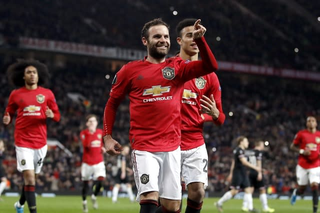 Juan Mata will be a judge in a painting competition (Rickett/PA)