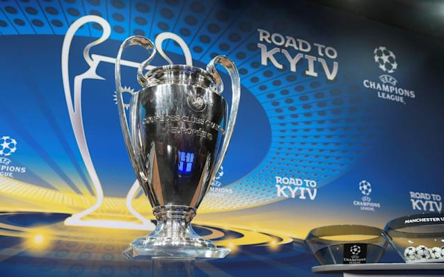 Quarter-final draw takes place at 11am Manchester City, Liverpool, Real Madrid, Roma, Sevilla, Juventus, Barcelona, Bayern Munich learn fate Quarter-final team guide: Dream draw, who to avoid and 'our' pick to win 11:08AM Thanks Pedro Now here's the star of the show from the 'House of Football': Giorgio Marchetti. Giorgio Marchetti, Uefa draw supremo Credit: BT SPORT And he's telling us how lucky we are that we can watch Leo and Cristiano. 'Thank you, Leo, thank you Cristiano.' Here comes Andriy Shevchenko to draw the balls. But first a montage of his goals. Appropriately his nickname, fact fans, was 'the Eastern Wind'. 11:02AM Here we go And it's Pedro Pinto telling us how the average goals per game in the Round of 16 is soaring. Goals, Pedro? Goals, Pedro? What a trad square. What about the xGs? 10:50AM While we're waiting What's your favourite quarter-final in Europe's premier competition? 10:34AM Good morning You lucky people. It's Champions League draw time again and an opportunity to be treated to Pedro Pinto, Giorgio Marchetti and, of course, in the absence of Esperanto, what passes for a common language throughout the continent: Ce sont les meilleures équipes Es sind die allerbesten Mannschaften The main event Die Meister Die Besten Les grandes équipes The champions And, because the final will be held in Kiev, no doubt Andriy Shevchenko, a winner in 2003 at Old Trafford with AC Milan and, let's not forget, a Carling Cup winner with Chelsea in 2007, the most treasured medal in his impressive collection, will doubtless be there, promising all and sundry of the grand time to be had in Ukraine come final day. It being a quarter-final draw, there are eight teams left in what passes for a hat: Barcelona, Bayern Munich, Juventus, Liverpool, Manchester City, Real Madrid, Roma and Sevilla. It's an open draw with no seeds so we could get a Clasico, City vs Liverpool, Pep Guardiola could return to Camp Nou or the Allianz Arena, Liverpool could take on Sevilla again or Roma, who hate Juve for dodgy decisions turning the title Juventus' way in 1981 and 1983 when they were the two best teams in Italy, Fabio Capello and plain old North v South spite, could take on their old rivals. All will be revealed when the wee plastic balls are given a stir in the Perspex bowl, opened and the cards unfolded. We will wait for the cameras to turn to the suits who will mug for the camera and busk at-this-stage-we-can't-pick-and-choose faces while shooting daggers at the jammy gets with away ties first against the usual suspects with glass-jawed defences. Alistair Tweedale and Charlie Eccleshare went through the remaining sides and ranked them yesterday. Here is their considered, but wrong opinion. Barcelona are going to win. Or Manchester City. Or Bayern Munich. Or Juventus. Or Liverpool … Pre-draw best odds Man City 3/1 Barcelona 3/1 Real Madrid 4/1 Bayern Munich 9/2 Liverpool 9/1 Juventus 9/1 Sevilla 50/1 Roma 50/1