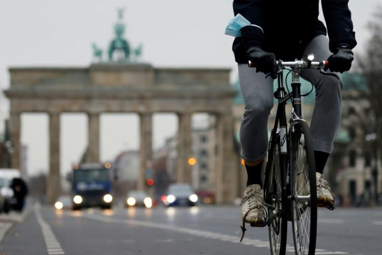 Berlin has seen a sharp rise in the number of cyclists during the coronavirus pandemic which has been causing tensions on the road