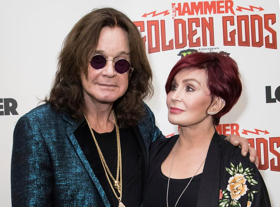 """Ozzy Osbourne called his wife Sharon Osborne """"unracist"""" after """"The Talk"""" controversy."""