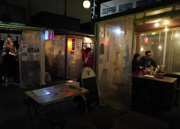 Each yatai has its own special atmosphere