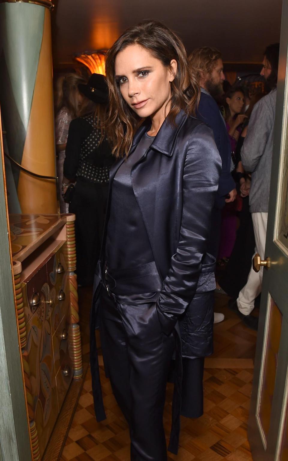 <p>Now: Once she married footballer David Beckham her career soared. She successfully transitioned from pop star to WAG, to fashion designer. Now, the mum of 4 is part of one of the most high-profile families in the world. [Photo: Getty] </p>